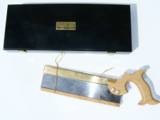 "Thomas Flinn Pax 1776 Tenon Saw 10"" with display box"